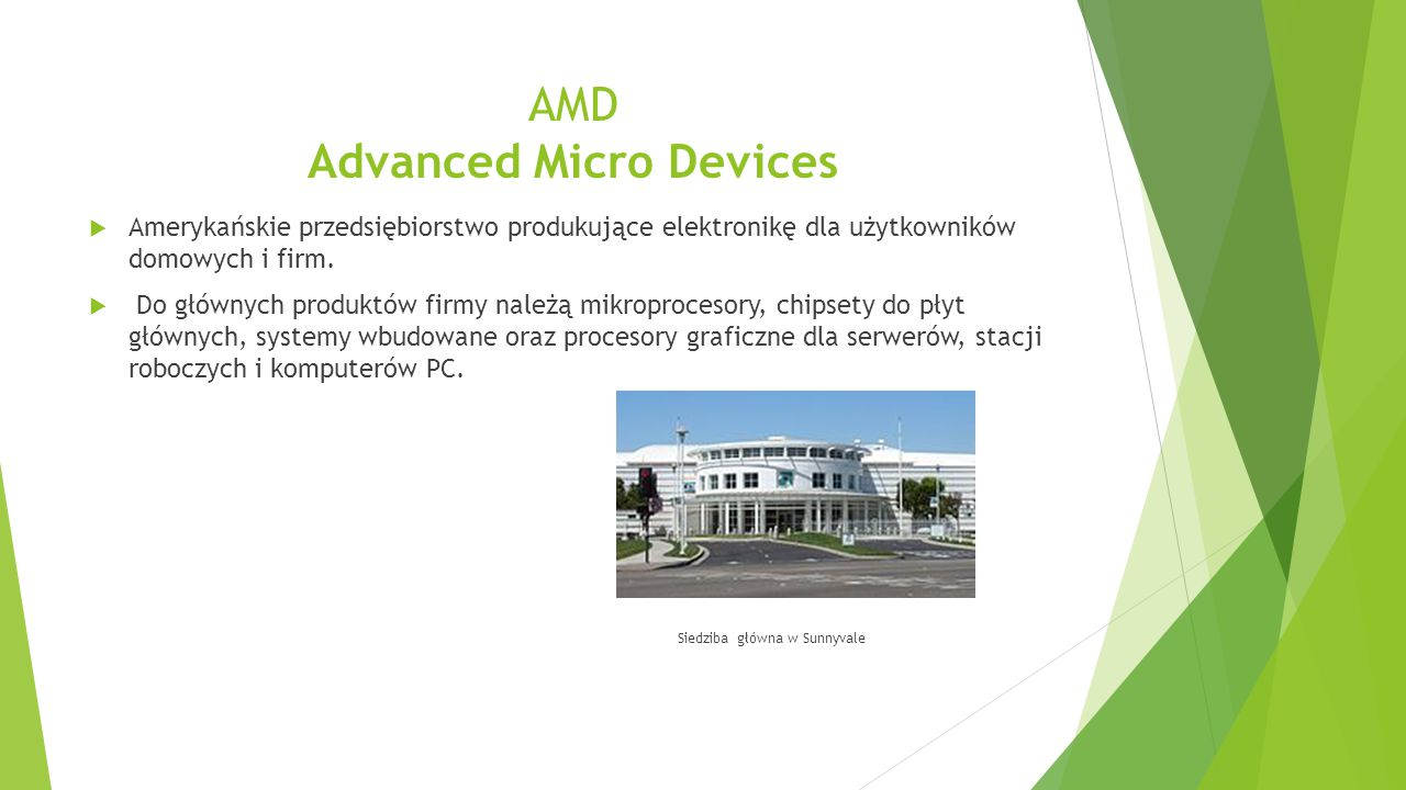 AMD Advanced Micro Devices