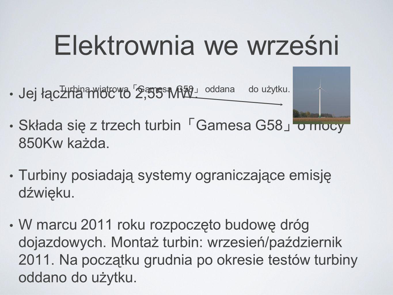 Elektrownia we wrześni