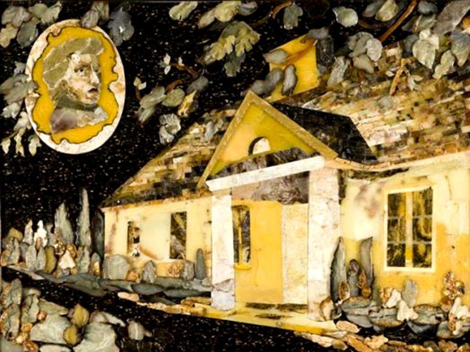 Obrazy z pracowni Lucjana Myrty - mozaika florencka (pietra dura)