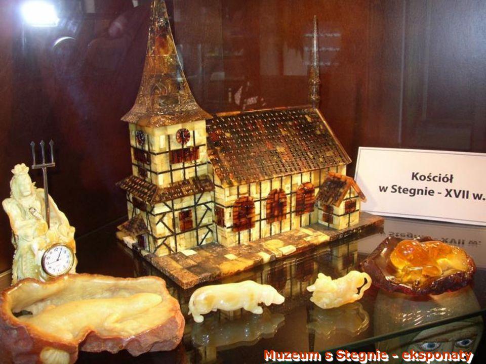 Muzeum s Stegnie - eksponaty