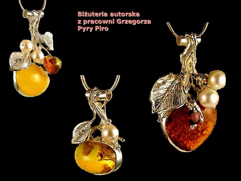 Biżuteria autorska z pracowni Grzegorza Pyry Piro