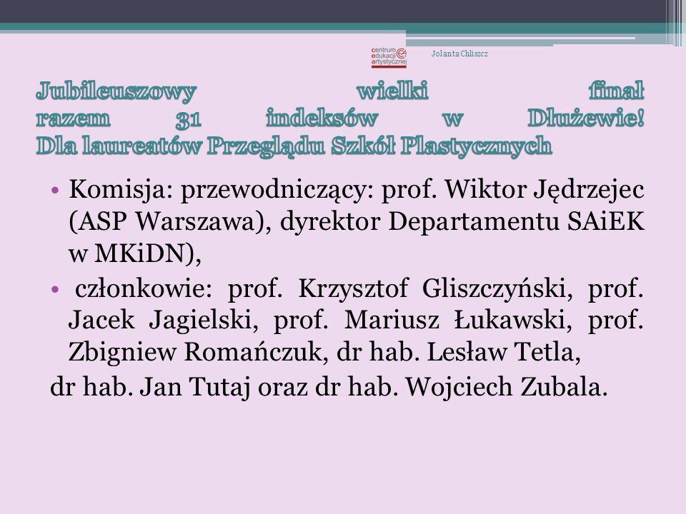 dr hab. Jan Tutaj oraz dr hab. Wojciech Zubala.