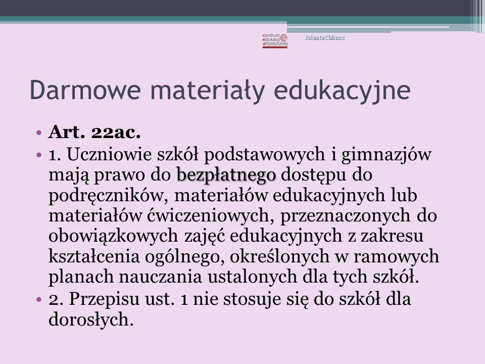 Darmowe materiały edukacyjne