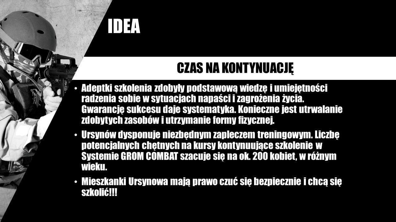 IDEA CZAS NA KONTYNUACJĘ