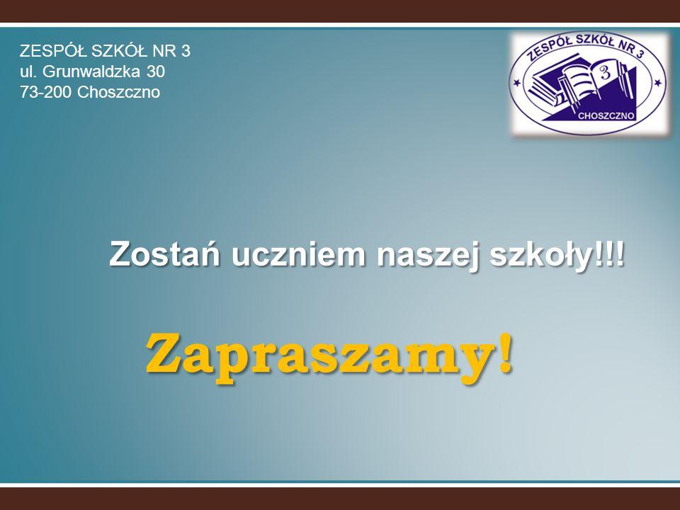 Zostań uczniem naszej szkoły!!!