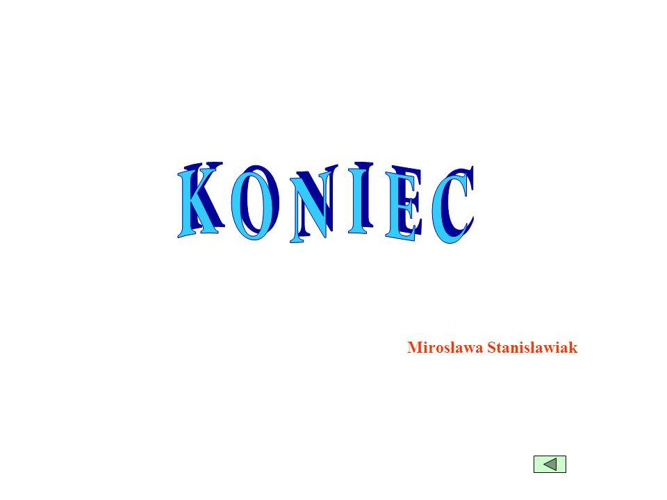 KONIEC Mirosława Stanisławiak