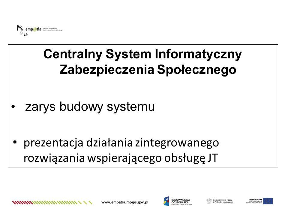 Centralny System Informatyczny Zabezpieczenia Społecznego