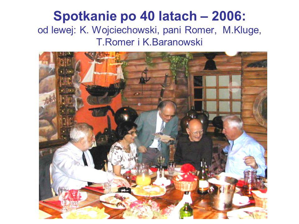 Spotkanie po 40 latach – 2006: od lewej: K