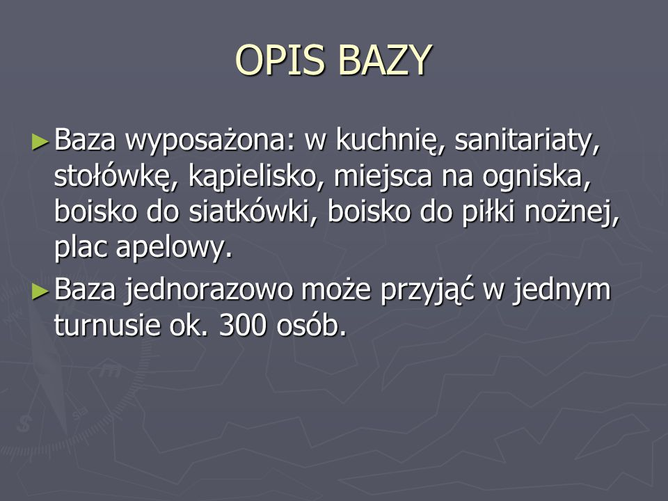 OPIS BAZY