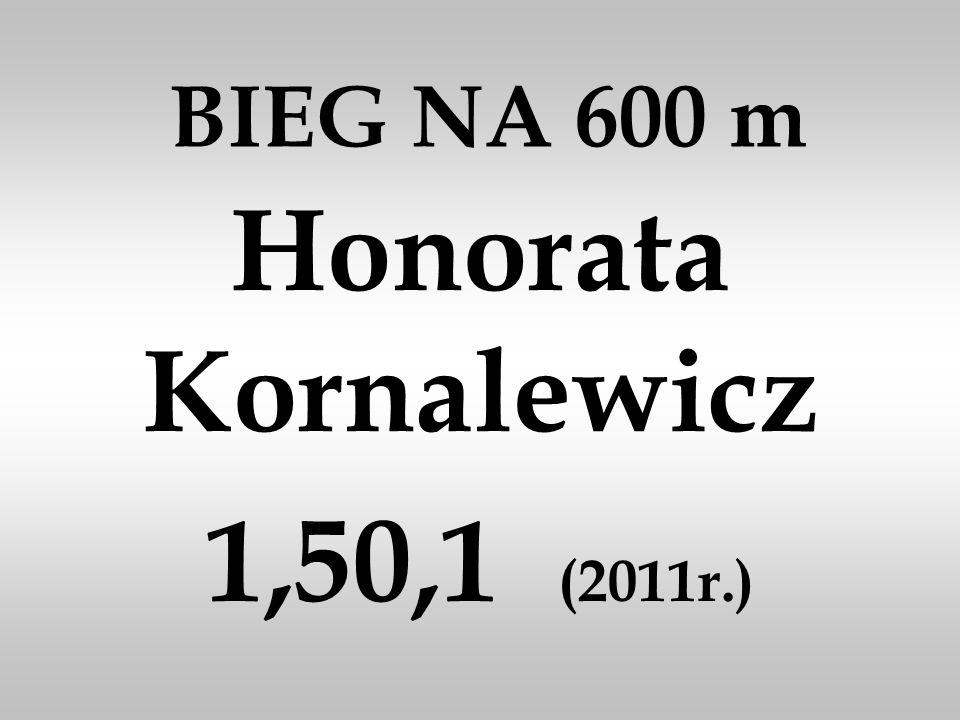 Honorata Kornalewicz 1,50,1 (2011r.)