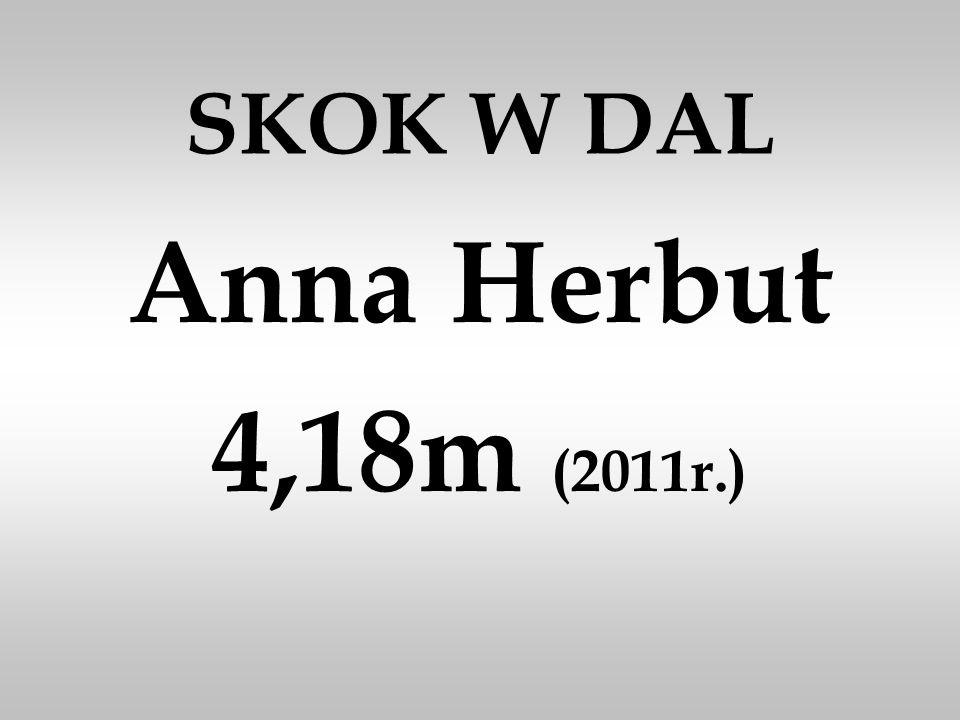 SKOK W DAL Anna Herbut 4,18m (2011r.)