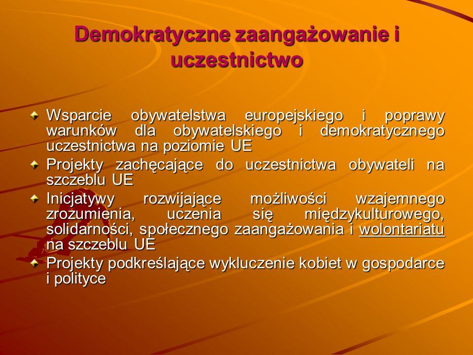 Demokratyczne zaangażowanie i uczestnictwo