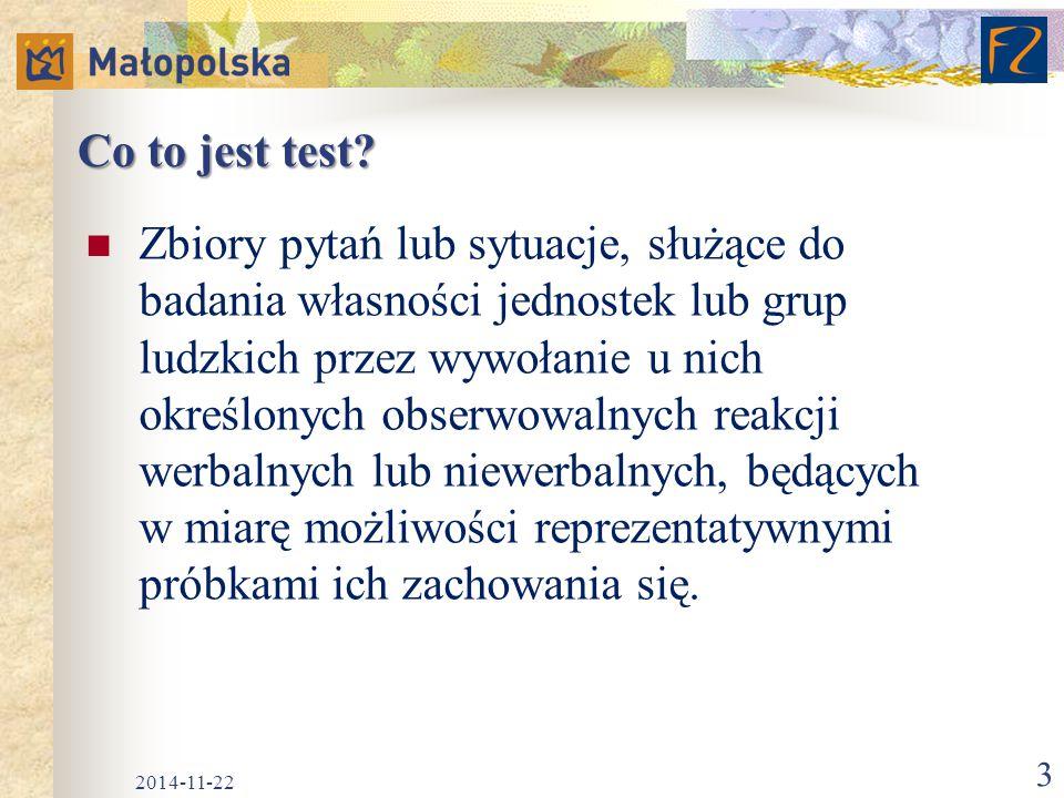 Co to jest test
