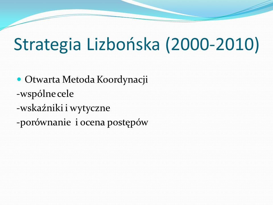 Strategia Lizbońska (2000-2010)