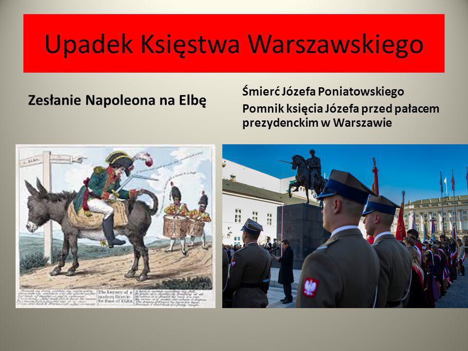 Upadek Księstwa Warszawskiego