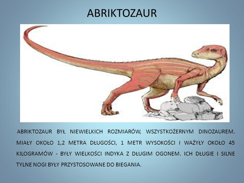ABRIKTOZAUR