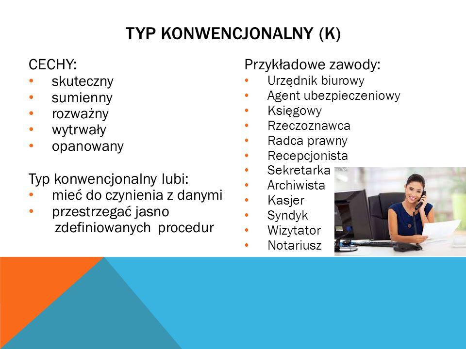 TYP KONWENCJONALNY (K)