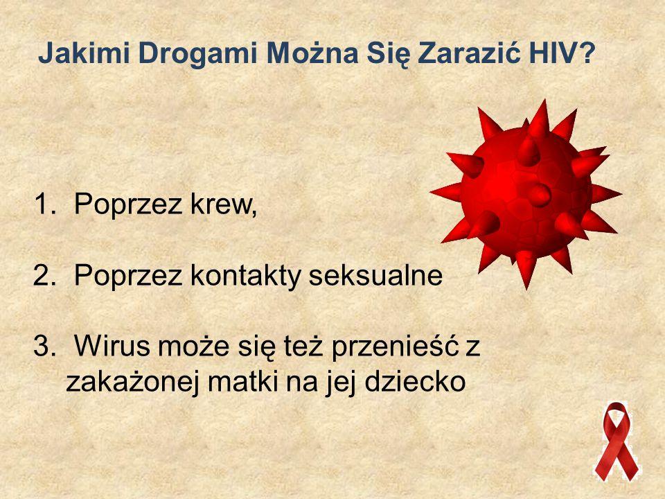 Jakimi Drogami Można Się Zarazić HIV