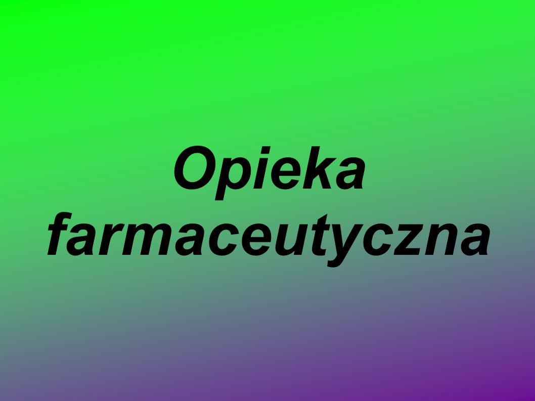 Opieka farmaceutyczna