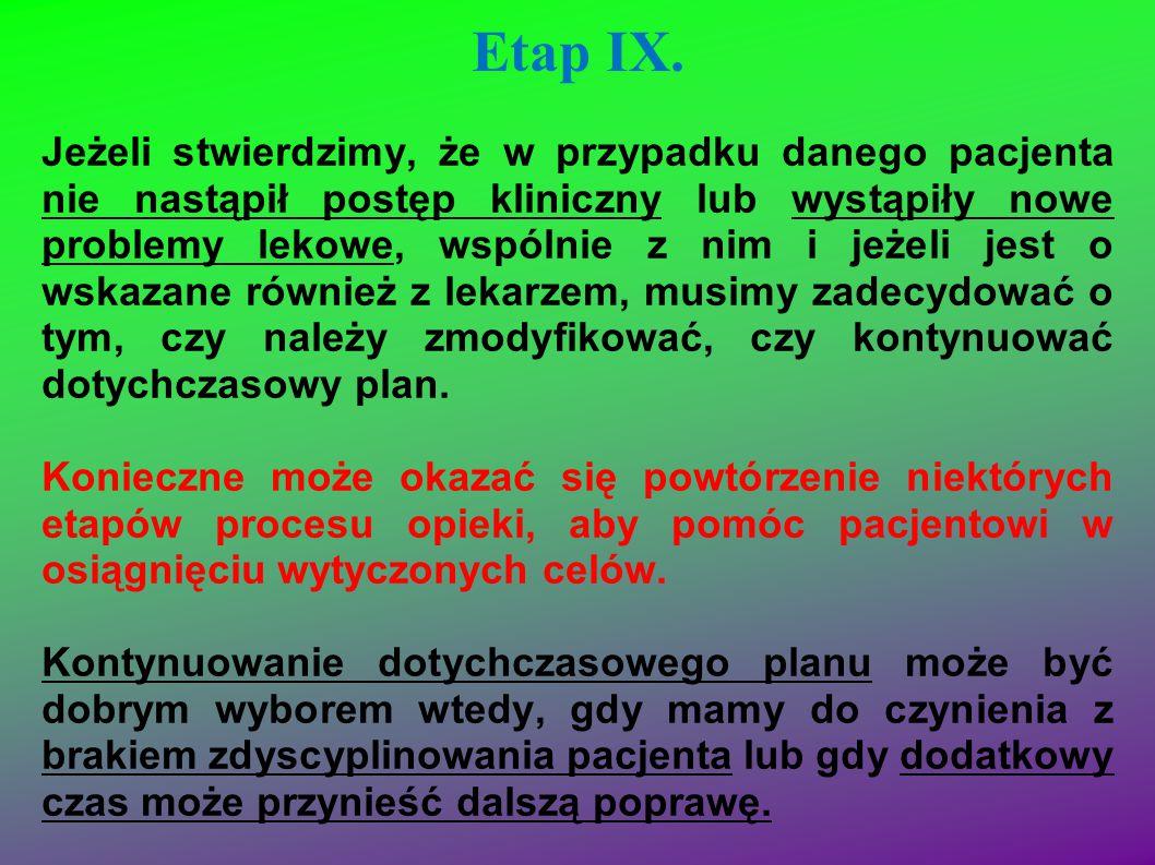 Etap IX.