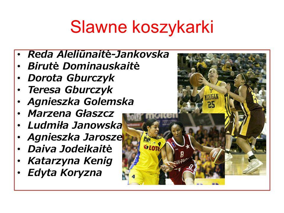 Slawne koszykarki Reda Aleliūnaitė-Jankovska Birutė Dominauskaitė