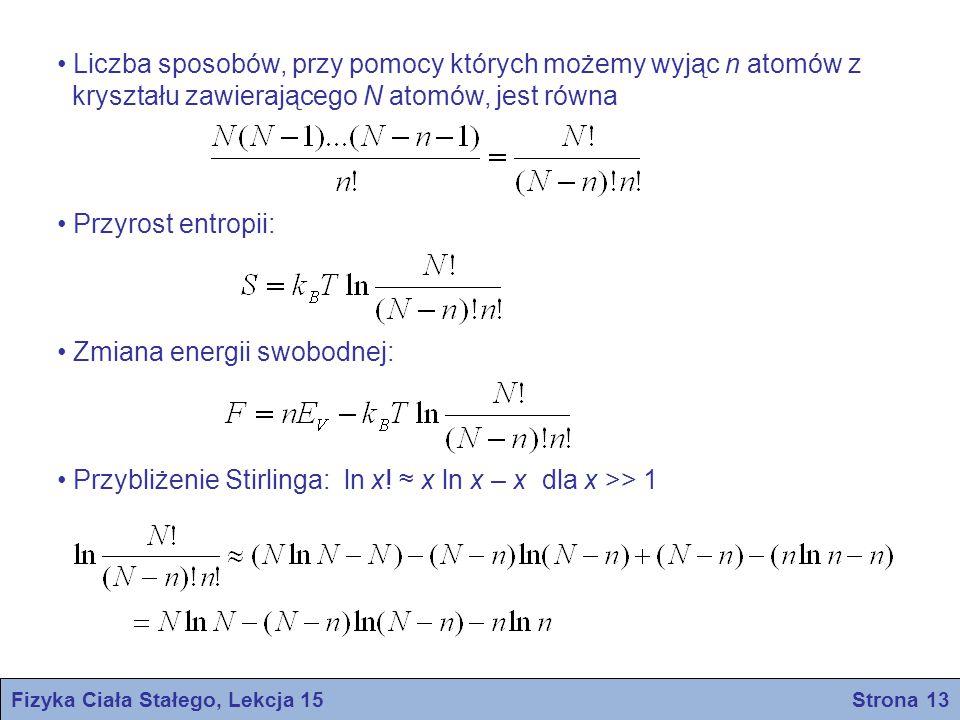 Fizyka Ciała Stałego, Lekcja 15 Strona 13
