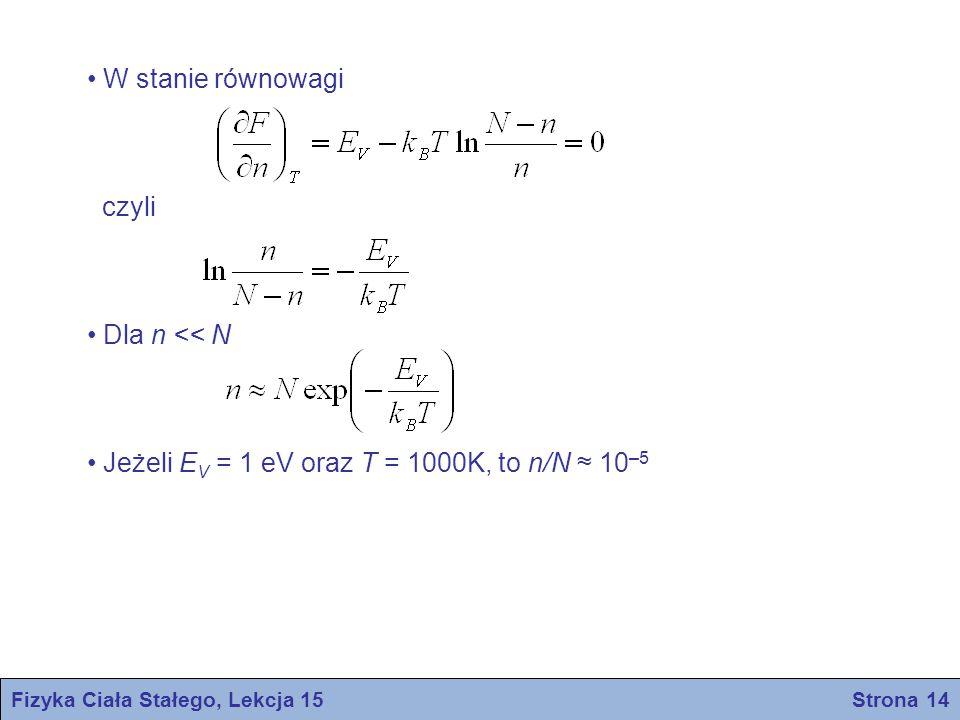 Fizyka Ciała Stałego, Lekcja 15 Strona 14