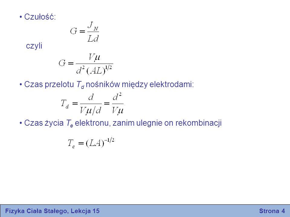 Fizyka Ciała Stałego, Lekcja 15 Strona 4