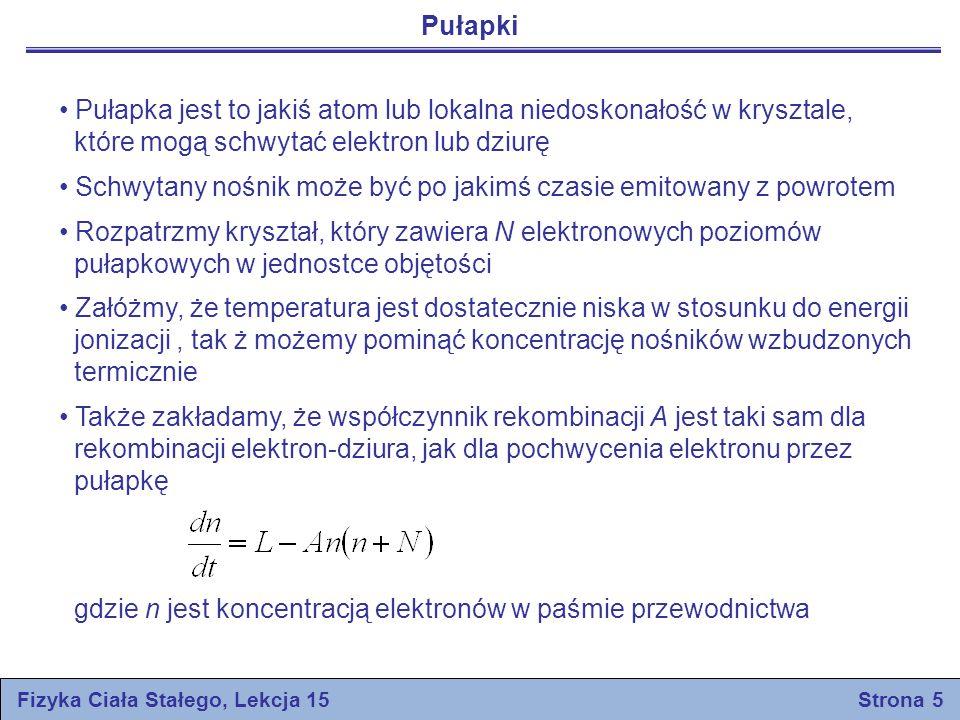 Fizyka Ciała Stałego, Lekcja 15 Strona 5