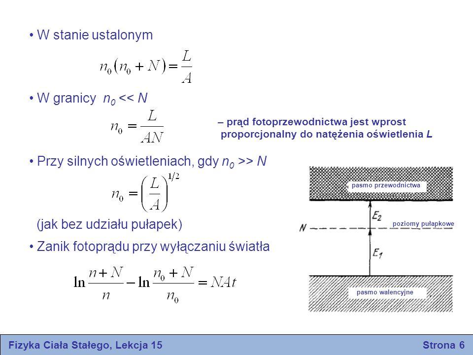 Fizyka Ciała Stałego, Lekcja 15 Strona 6
