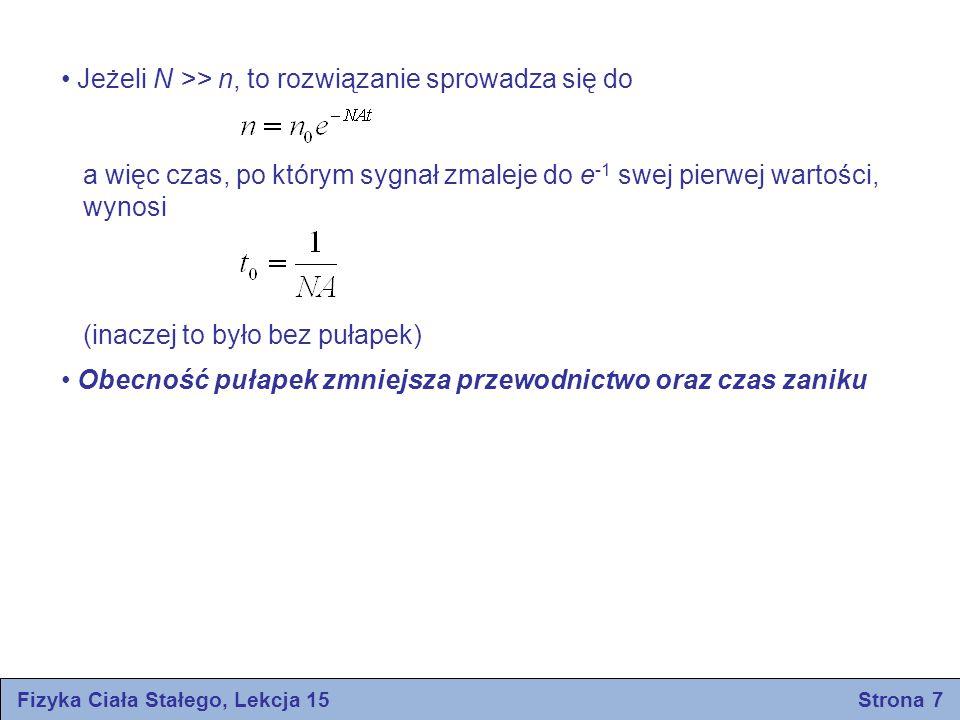 Fizyka Ciała Stałego, Lekcja 15 Strona 7