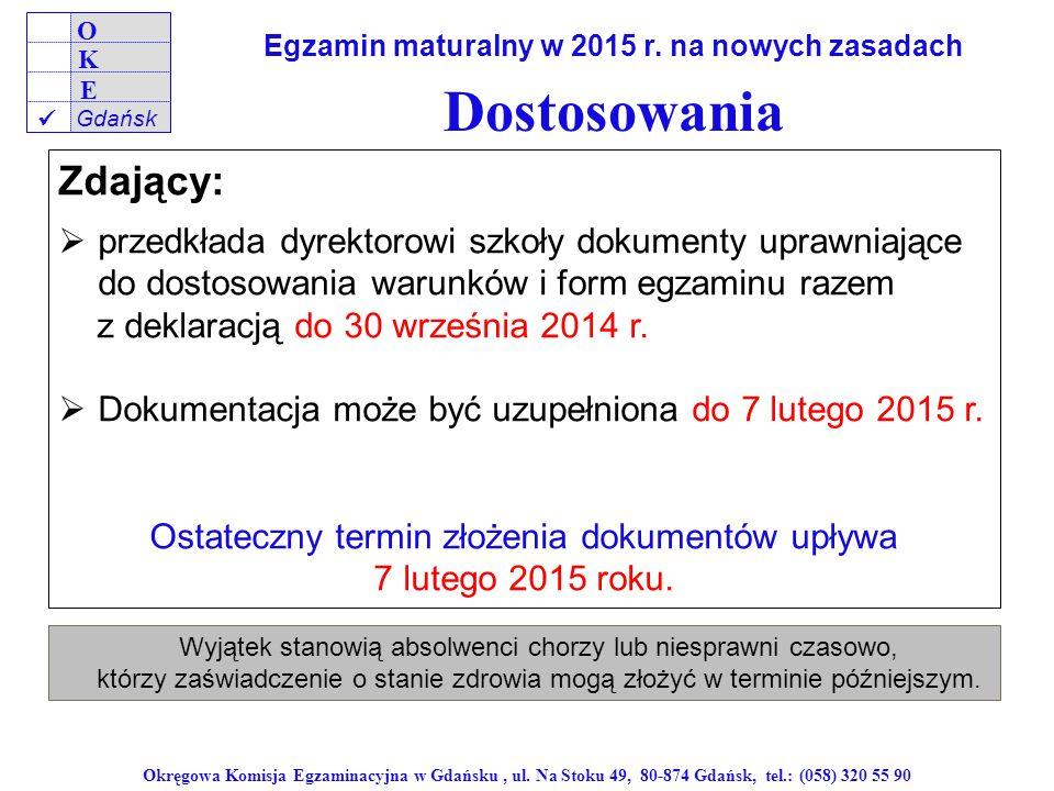 Egzamin maturalny w 2015 r. na nowych zasadach