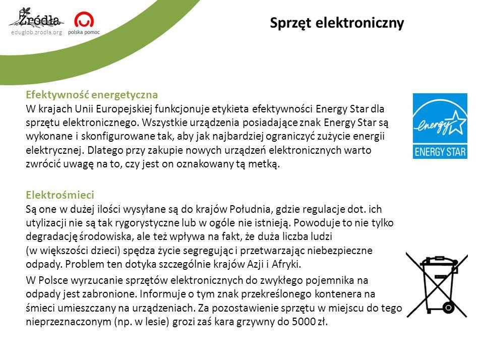 Sprzęt elektroniczny Efektywność energetyczna Elektrośmieci