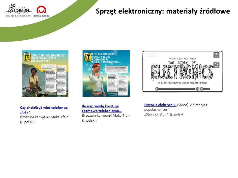 Sprzęt elektroniczny: materiały źródłowe