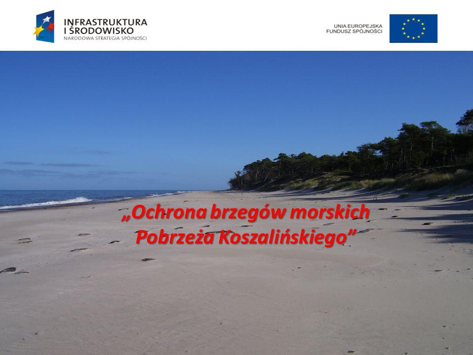 """""""Ochrona brzegów morskich Pobrzeża Koszalińskiego"""