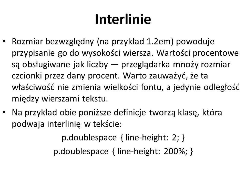 Interlinie