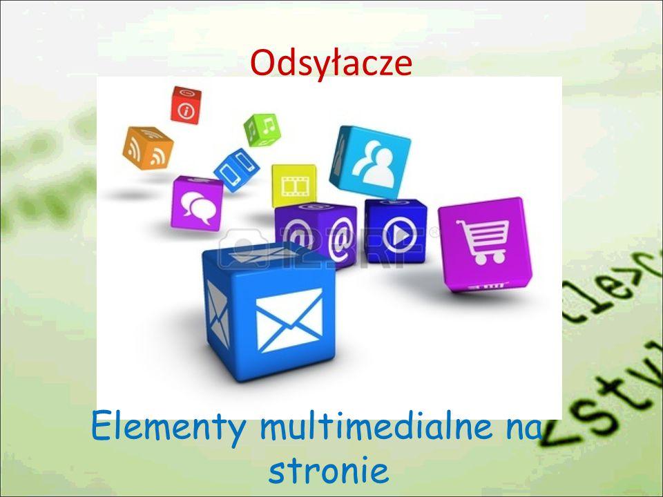 Elementy multimedialne na stronie