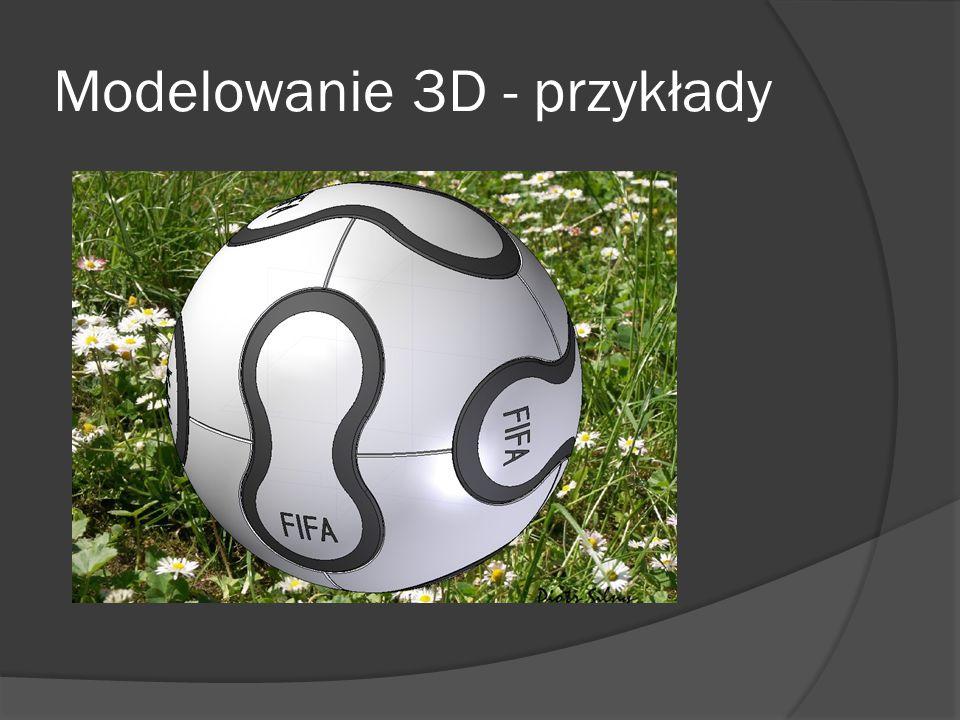 Modelowanie 3D - przykłady