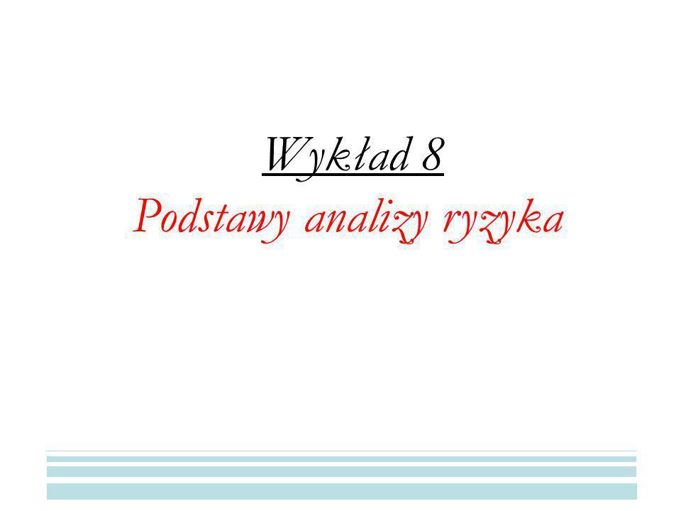 Podstawy analizy ryzyka