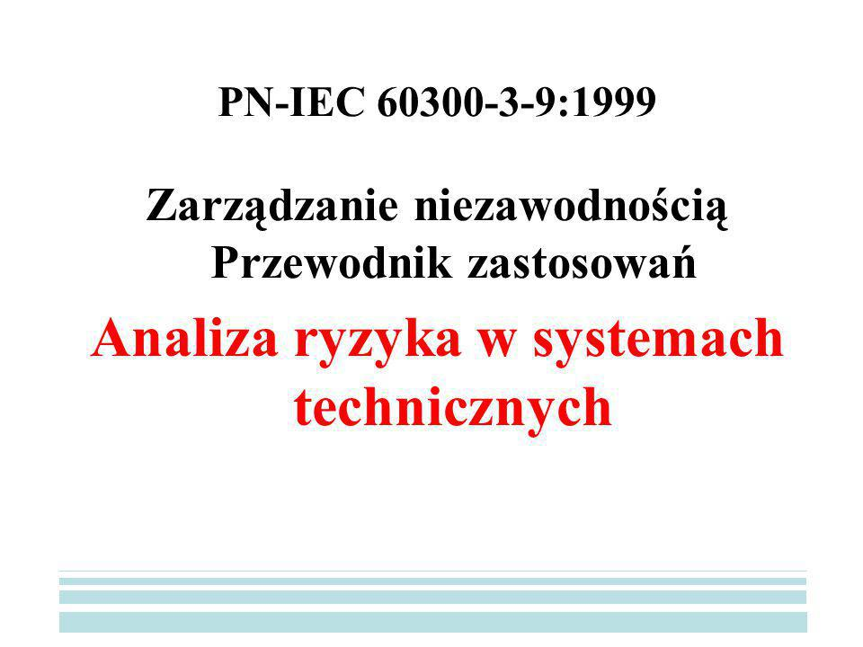 Analiza ryzyka w systemach technicznych