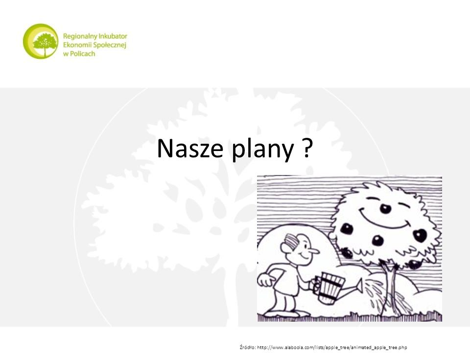 Nasze plany Źródło: http://www.alaboola.com/lists/apple_tree/animated_apple_tree.php