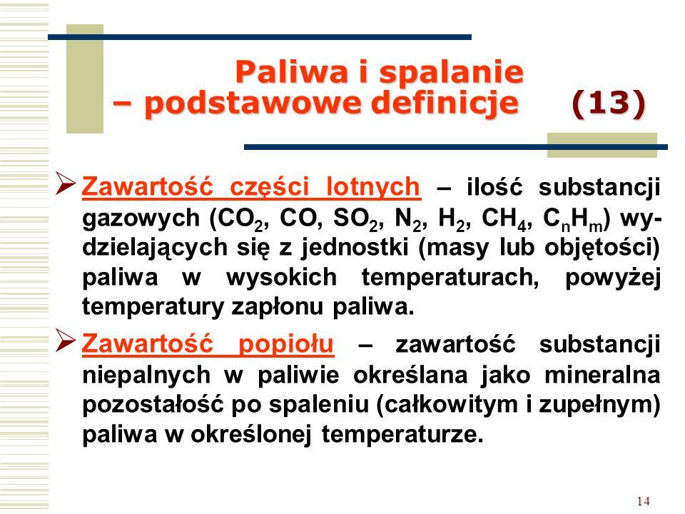 Paliwa i spalanie – podstawowe definicje (13)