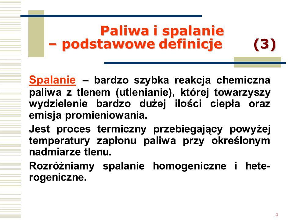 Paliwa i spalanie – podstawowe definicje (3)
