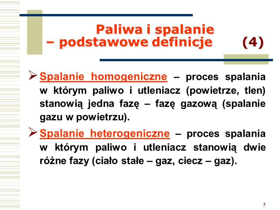 Paliwa i spalanie – podstawowe definicje (4)