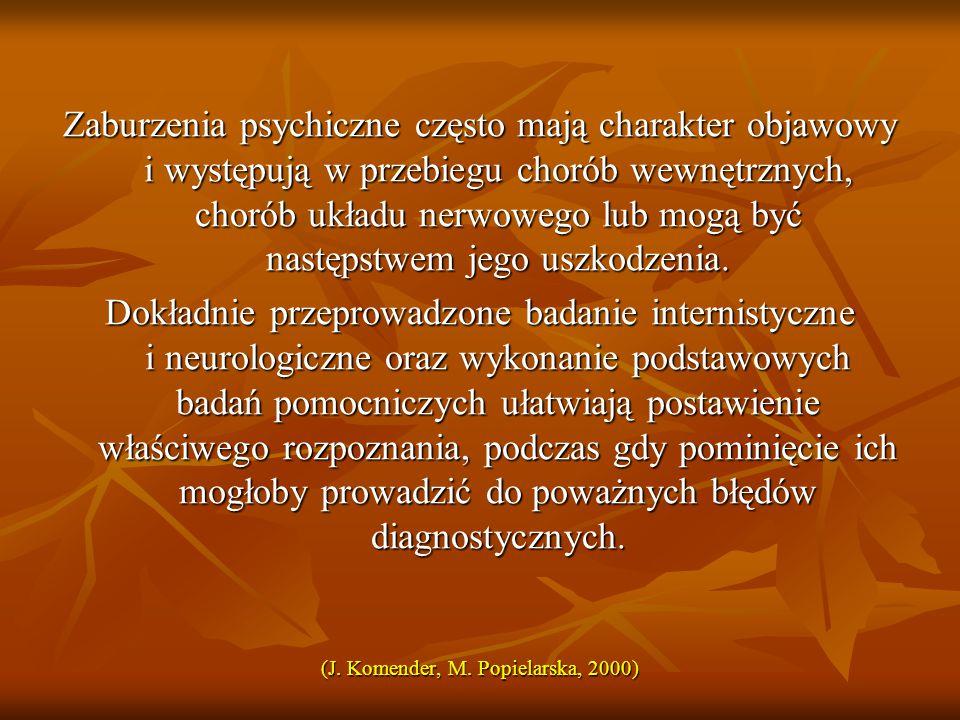 (J. Komender, M. Popielarska, 2000)
