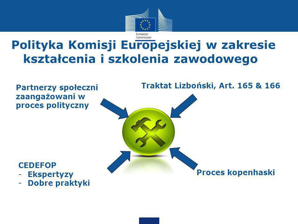 Polityka Komisji Europejskiej w zakresie kształcenia i szkolenia zawodowego