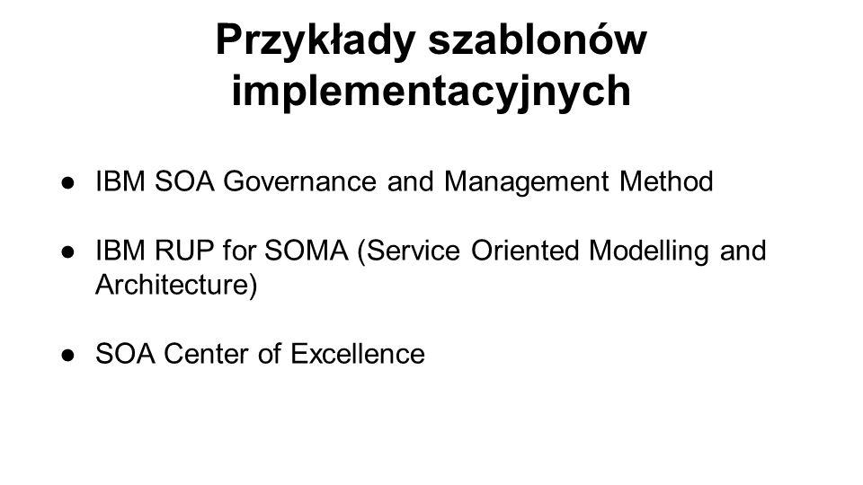 Przykłady szablonów implementacyjnych