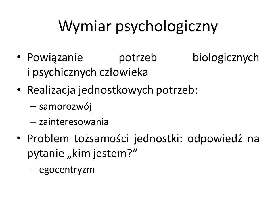 Wymiar psychologiczny