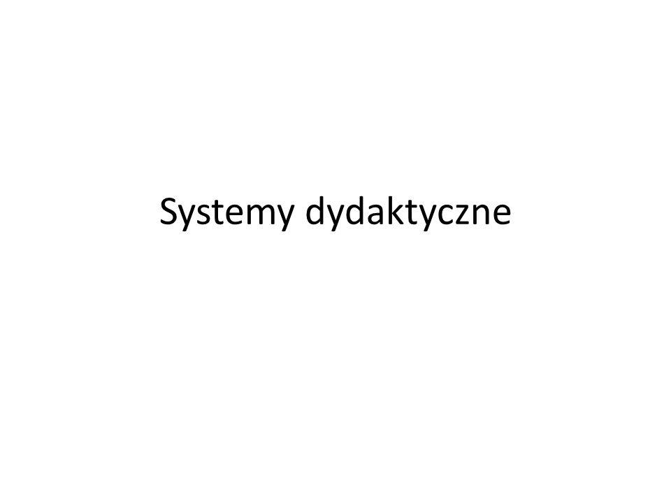 Systemy dydaktyczne