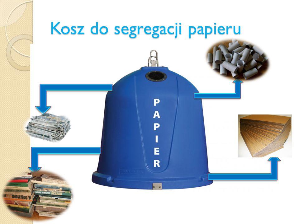 Kosz do segregacji papieru